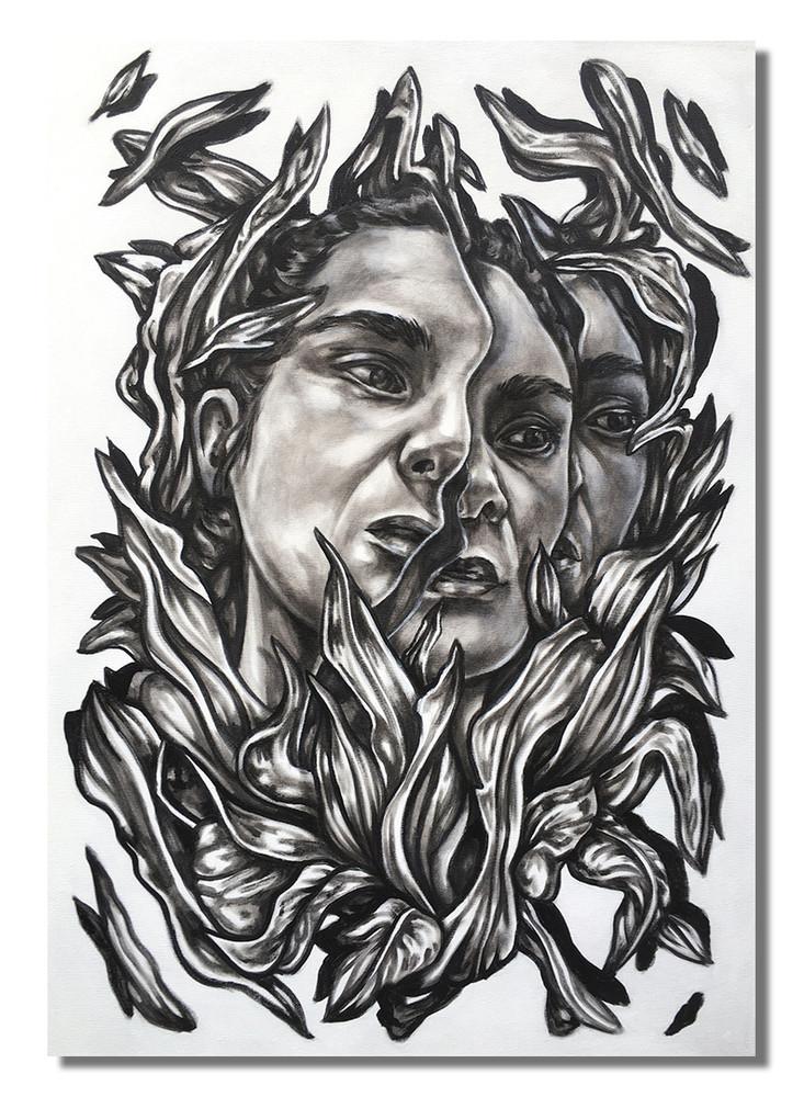 Adentro °2 by Paola Delfin