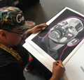 Quvo Trejo by Man One (also signed by Danny Trejo)