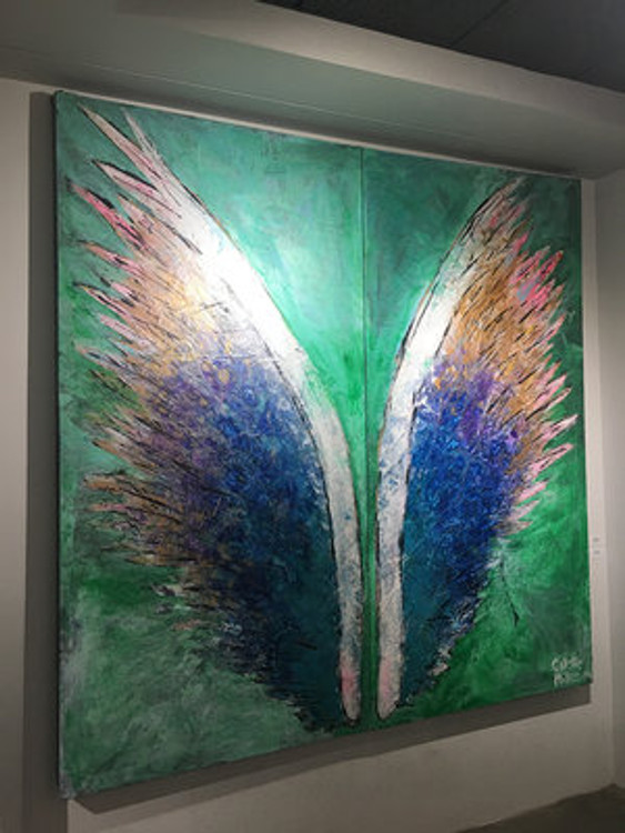Earth Wings by Colette Miller
