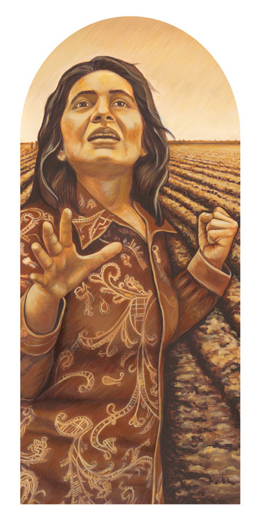 Portrait of Dolores by Judy Baca