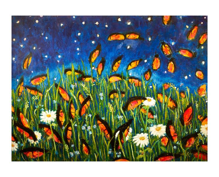 Fireflies by Colette Miller