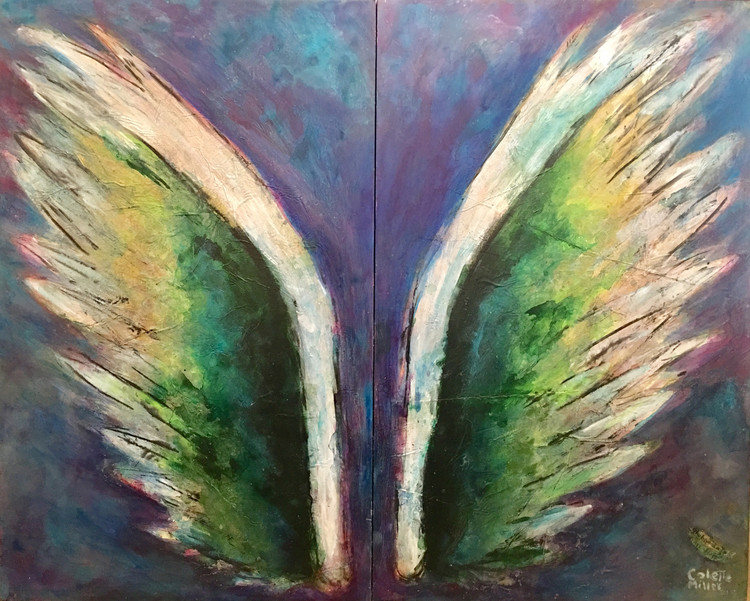 Lake Wings by Colette Miller