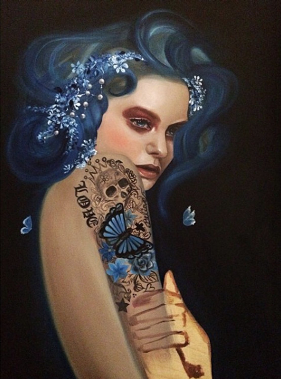 True Blue by Haydee Escobar