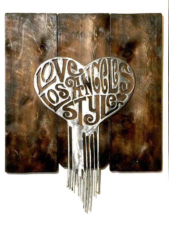 Love Los Angeles Style by John Q