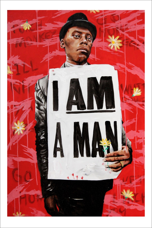 I AM A MAN by Gabe Gault