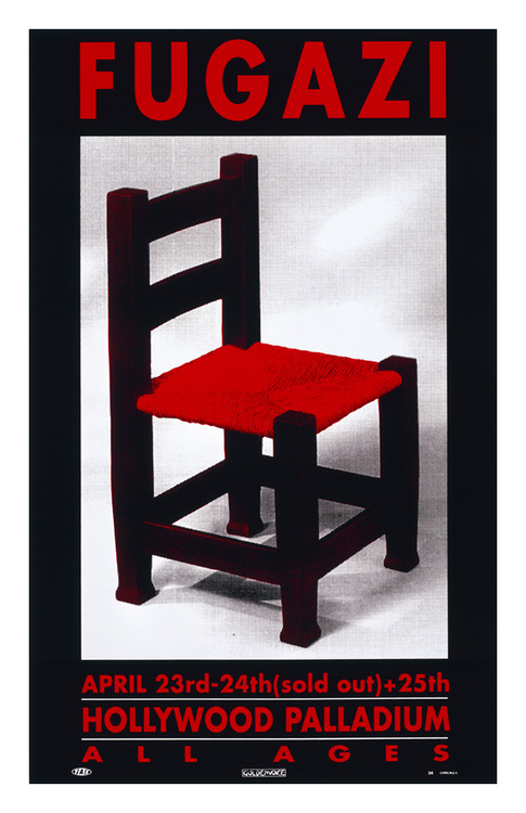 "FUGAZI – CHAIR by Jim ""TAZ"" Evans 1993"