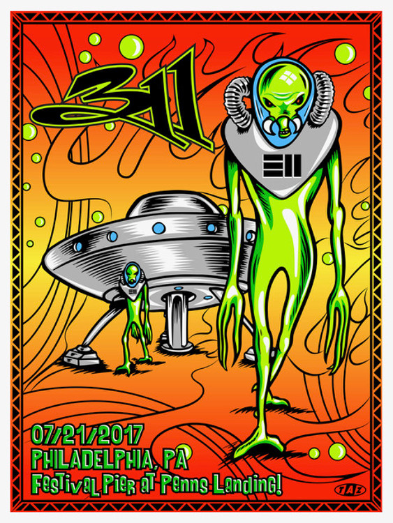 """311"" 2017 by Jim ""TAZ"" Evans"