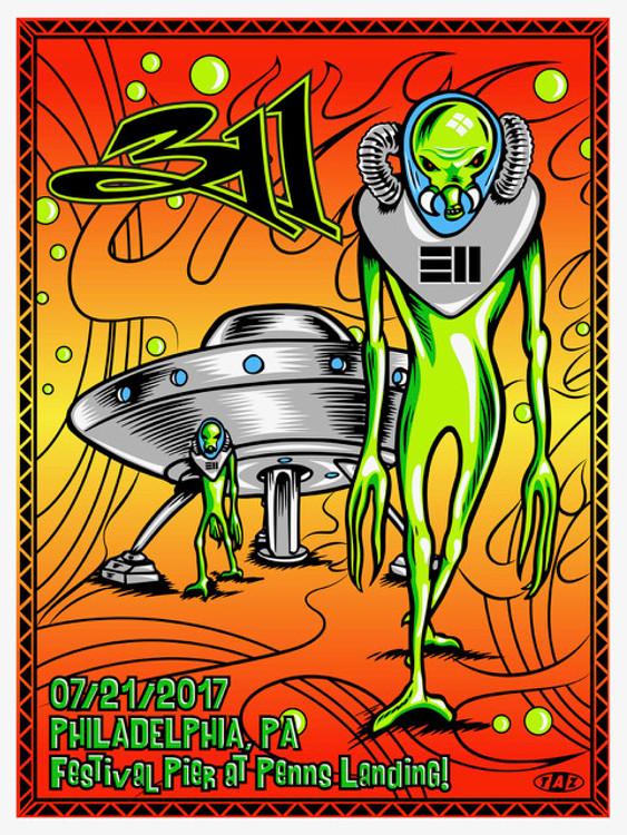 """311"" 2017 by Jim ""TAZ"" Evans"