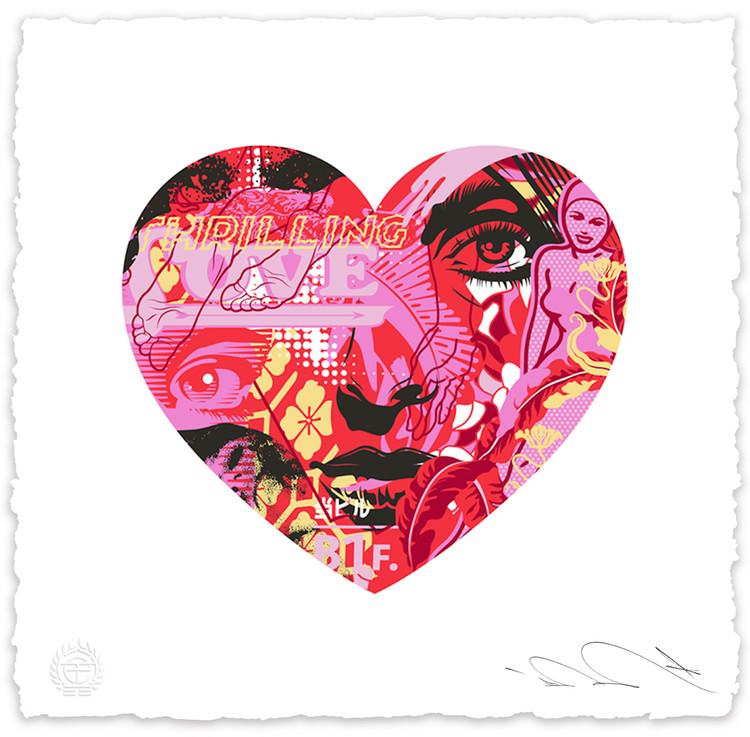 Thrilling Love by Tristan Eaton