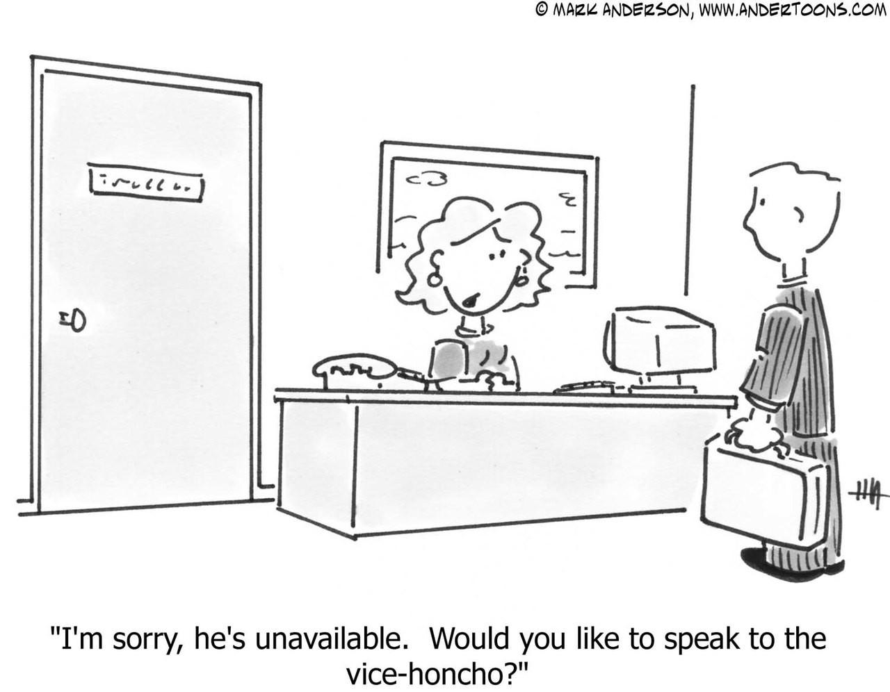 Corporate Cartoon 414 Andertoons