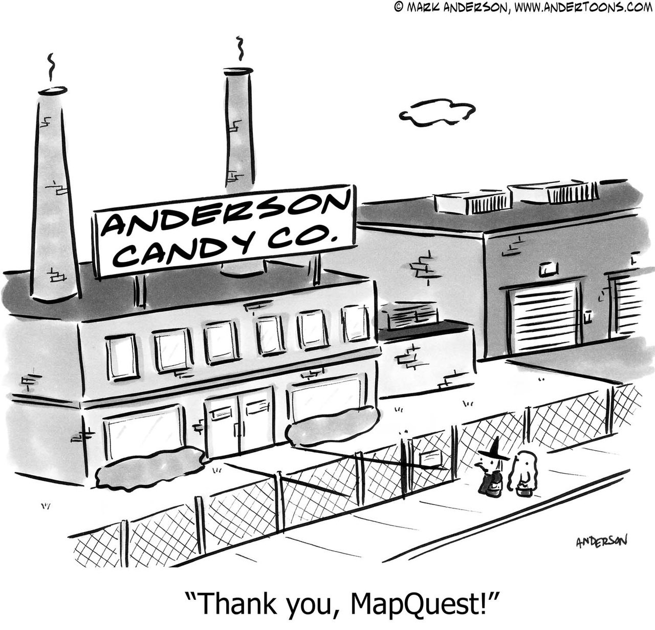 Map Cartoon # 5337 - ANDERTOONS