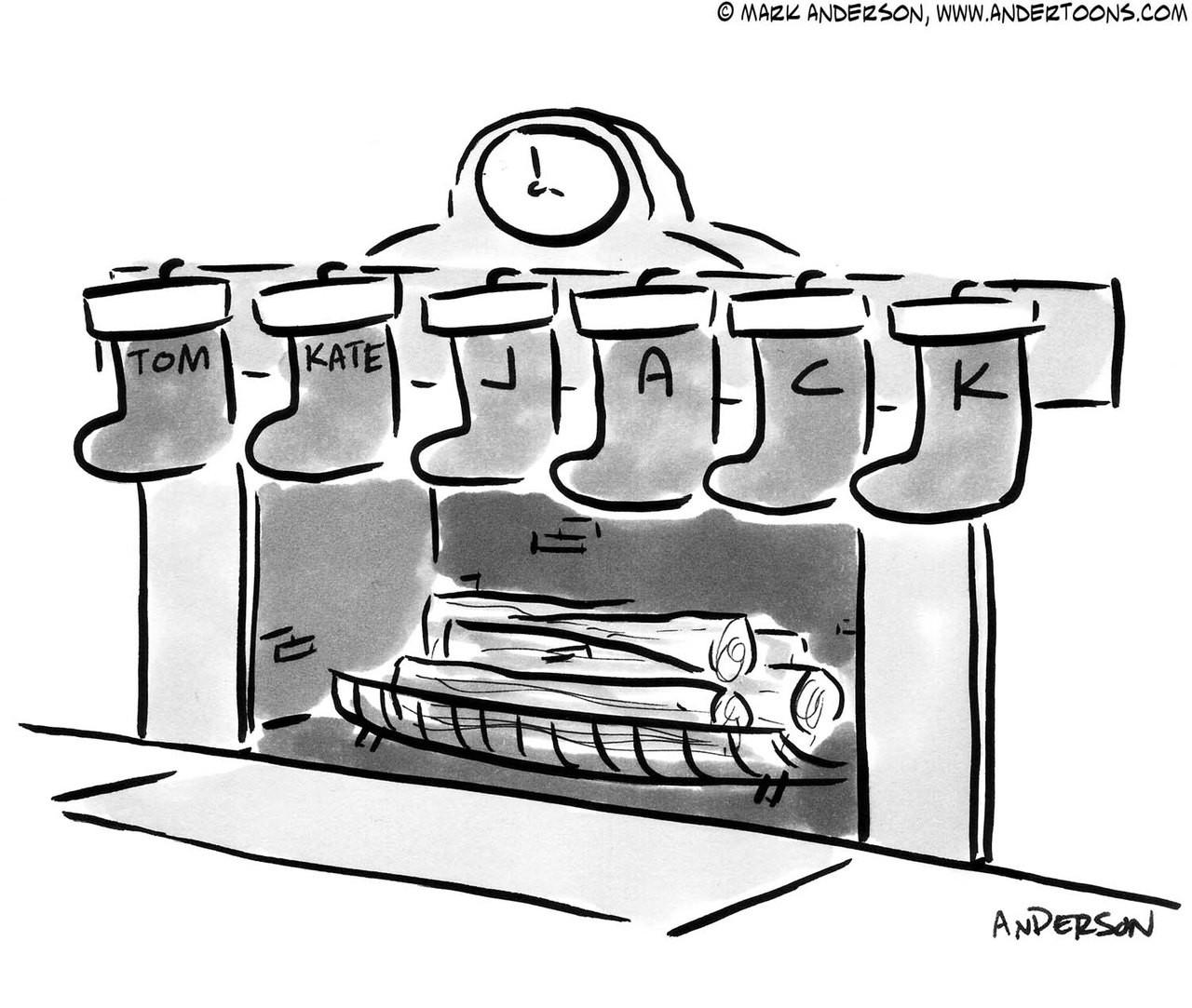 Christmas Cartoon # 5978 - ANDERTOONS