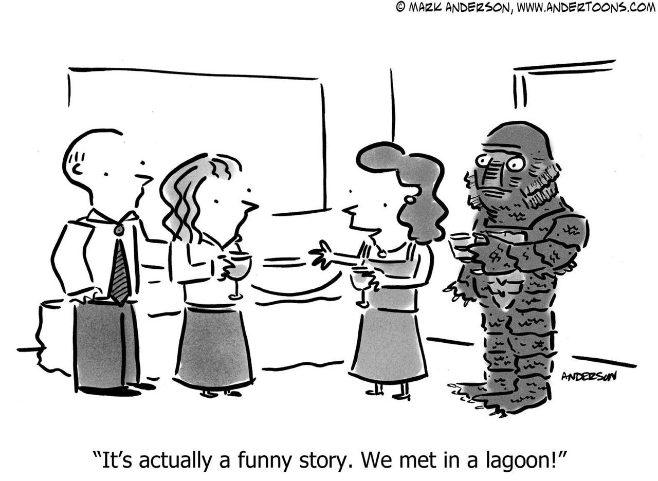 Halloween Cartoon # 6454 - ANDERTOONS