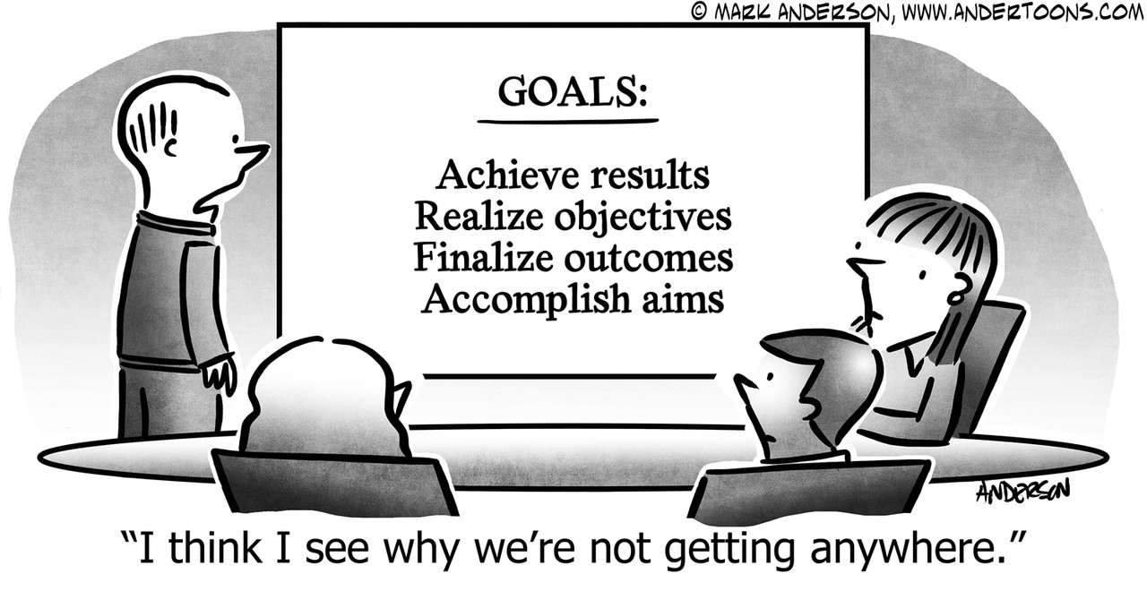 Goal Cartoon # 8072 - ANDERTOONS