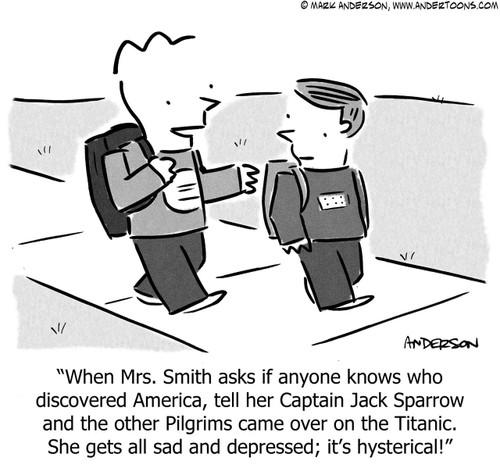 History Cartoon # 6789 - ANDERTOONS