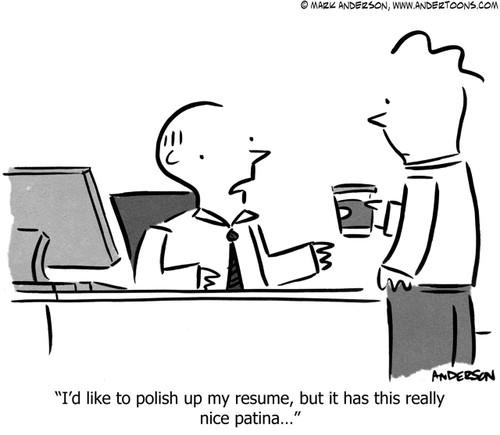 Resume Cartoon 6865 Andertoons