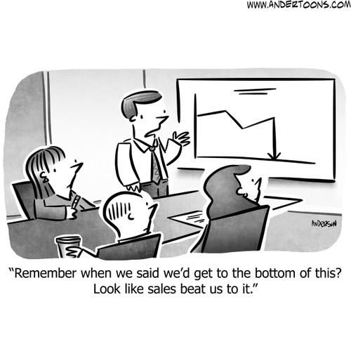 Sales Cartoon #8359 - ANDERTOONS