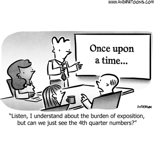 Sales Cartoon # 8412 - ANDERTOONS