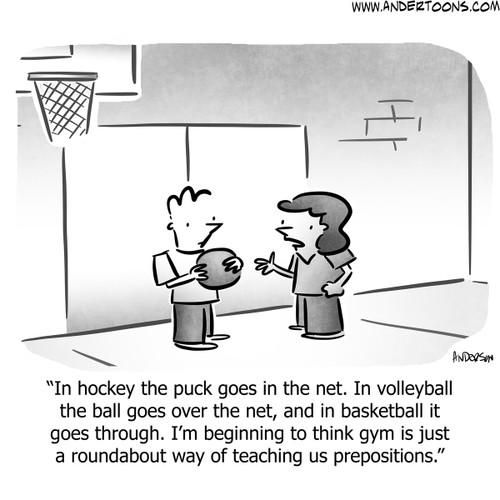 Sports Cartoons You Can Use Andertoons Sports Cartoons