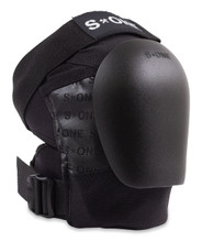 S1 Pro Knee Pad with NEW Black Caps