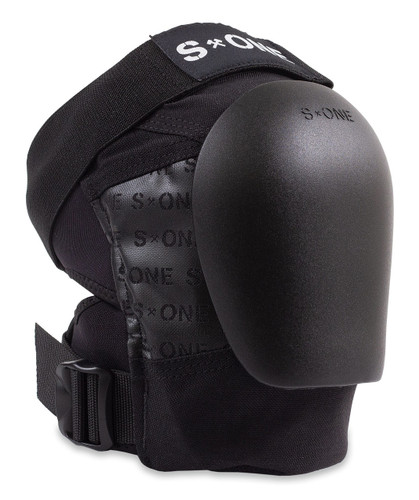 S1 Pro Knee Pad with NEW Black Caps