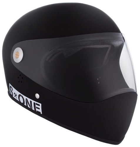 Black Matte W/ Clear Visor | S1 Lifer Full Face Helmet Specs: • Specially formulated EPS Fusion Foam • Certified Multi-Impact (ASTM) • Certified High Impact (CPSC) • 5x More Protective Than Regular Skate Helmets • Deep Fit Design
