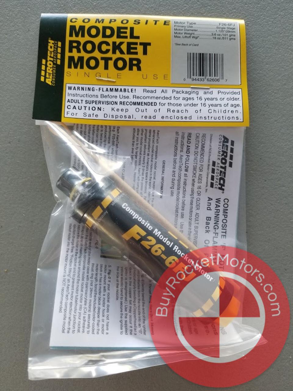 Aerotech F26 Fast Jack 29 mm - Single Use