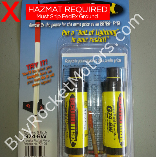 EconoMax F44 White Lightning 24 mm - Single Use (2 Pack)