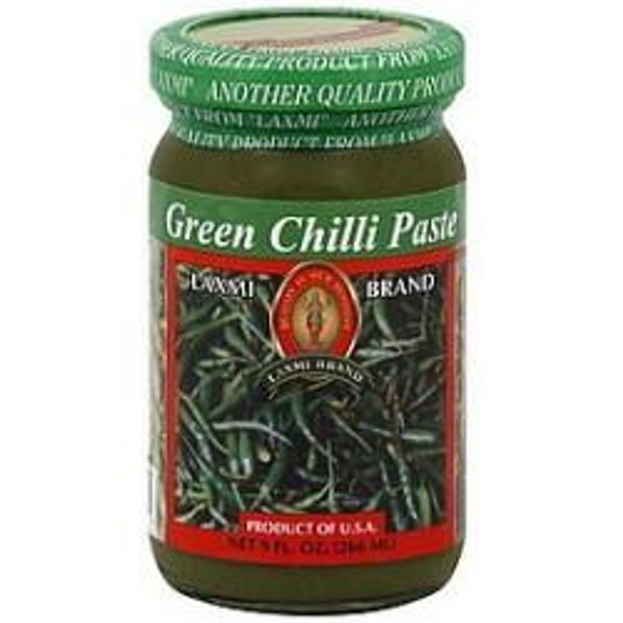 LAXMI GREEN CHILLI PASTE- 9 OZ