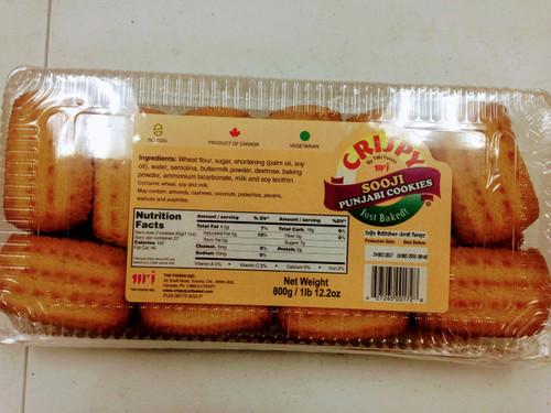 Crispy Sooji Punjabi Cookies-800g