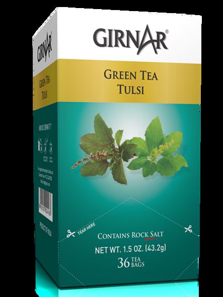 Girnar Green Tea with Tulsi
