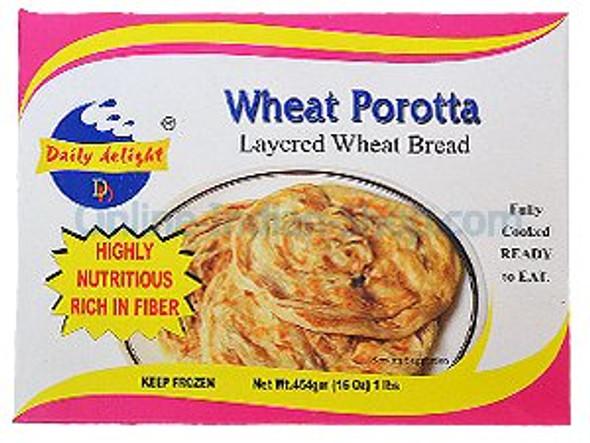 Daily Delight - Wheat Porotta - 1 lbs