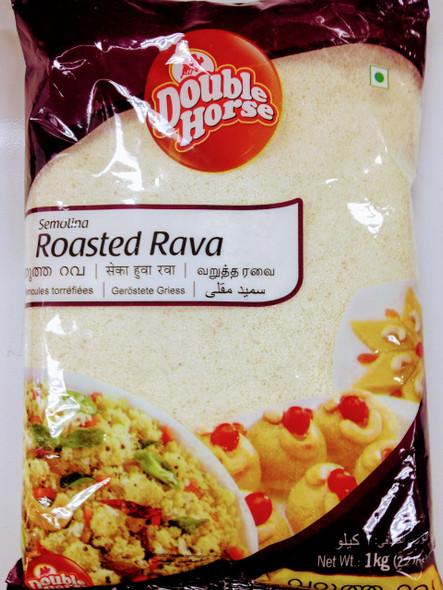 Double Horse Roasted-Rava -1kg