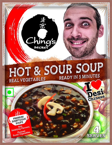 Ching's Hot & Sour Veg Soup 55gm