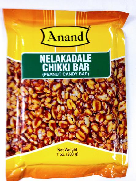 Anand Nelakadale Chikki Bar (Peanut Candy Bar)-200g