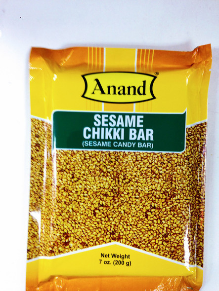 Anand Sesame Chikki Bar(Sesame Candy Bar)-200g