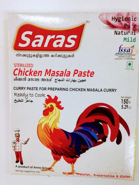 Saras Chicken Masala Paste -150g