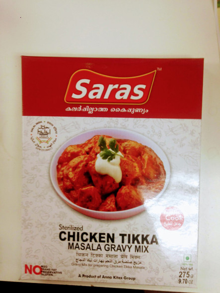 Saras Chicken Tikka Masala Gravy 275 g