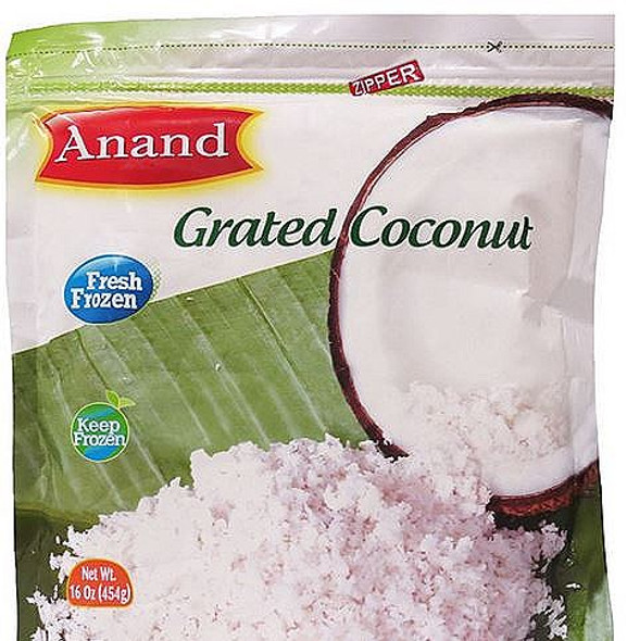 Anand Frozen Grated Coconut- 454G