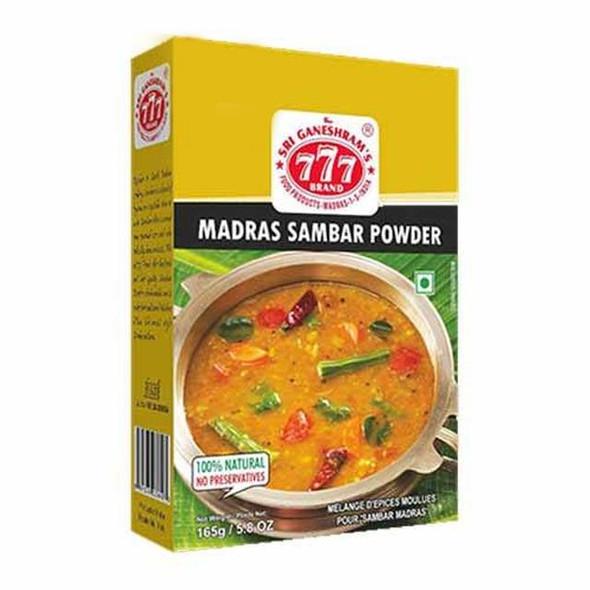 777 Madras Sambar Powder - 165g Buy 1 Get 1 Free
