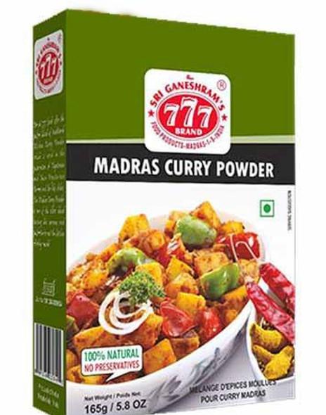 777 Madras Curry Powder - 165g Buy 1 Get 1 Free