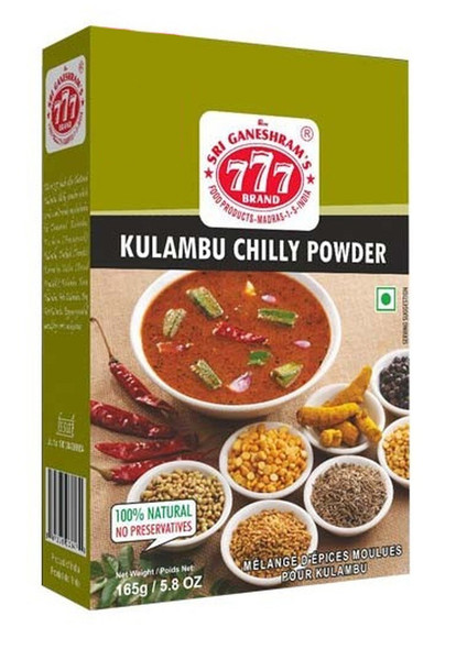 777 Kulambu Chilly Powder - 165g Buy 1 Get 1 Free