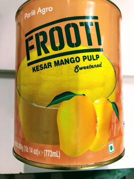 Frooti Kesar Mango Pulp - 850g