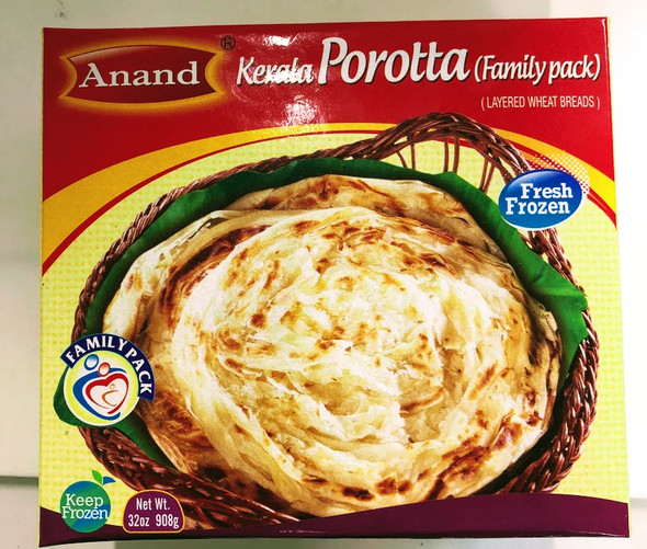 Anand Frozen Kerala Paratha family Pack - 2lb