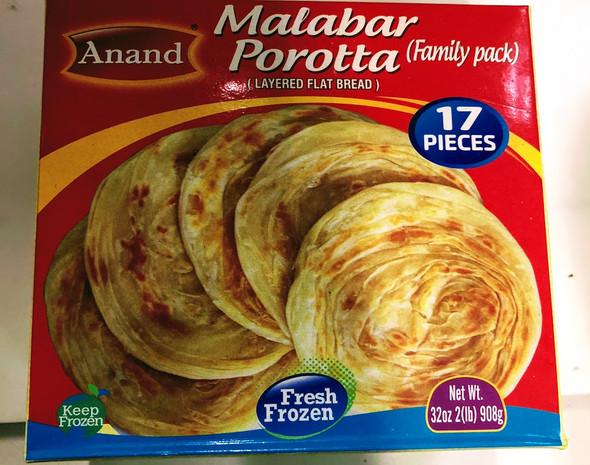 Anand Frozen Malabar Paratha - 2lb
