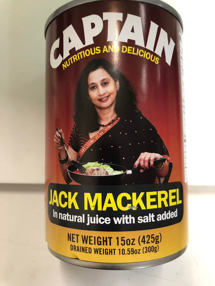 Captain Jack Mackerel -425g