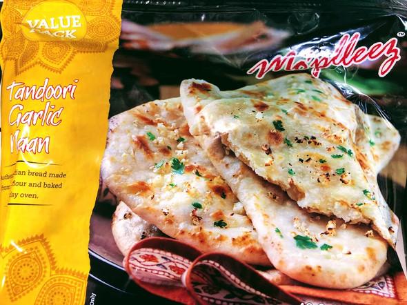 Mopleez Tandoori Garlic Naan - 42.3oz