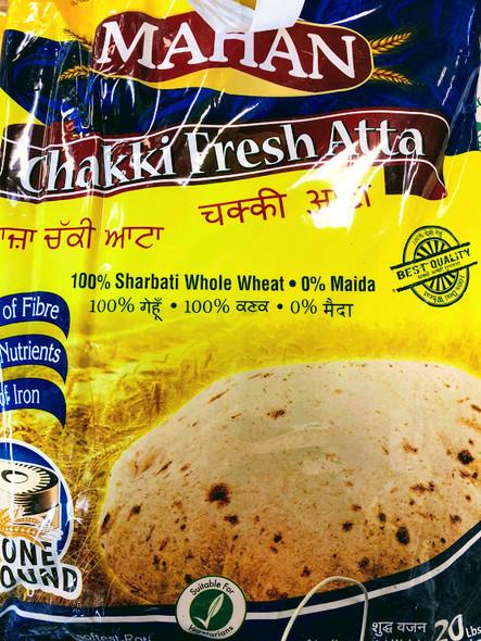 Mahan Chakki Atta - 20lb