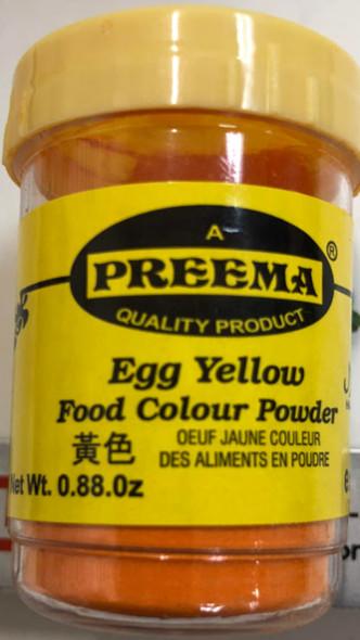 Preema Egg Yellow Color - 25g