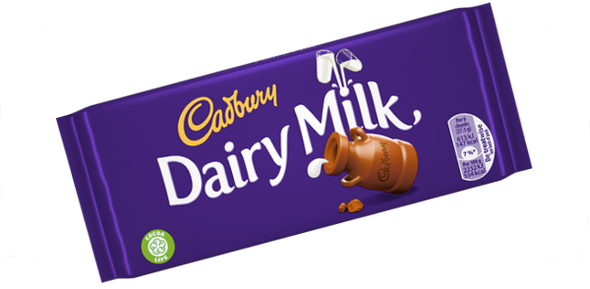 Cadbury Dairy Milk  Plain Bar Medium -100g